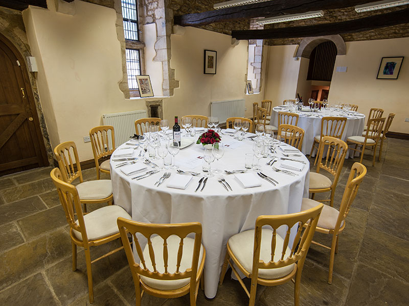 Dining in Almoner's Hall