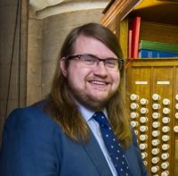 James Bowstead, Organ Scholar, Peterborough Cathedral