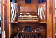 Peterborough Cathedral organ - the organist's view