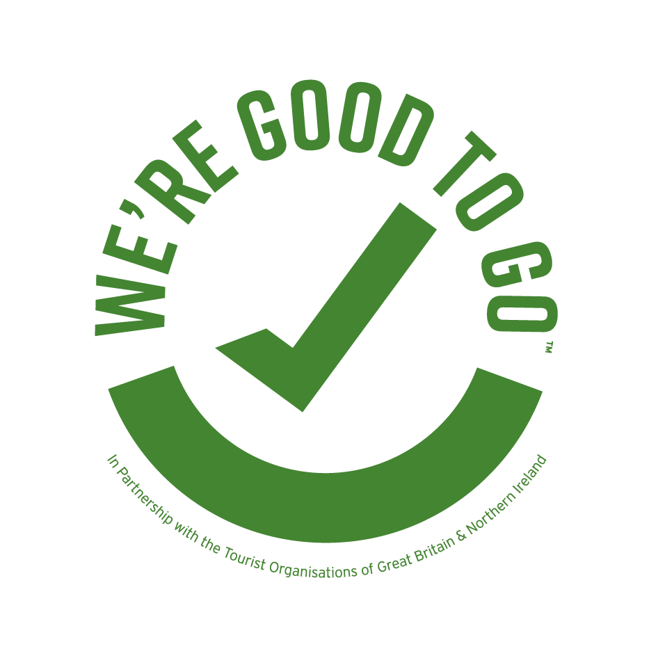 Visit Britain Good to Go logo
