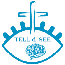 Tell and See logo