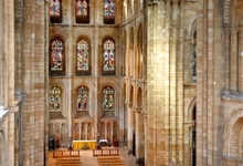The North Transept of Peterborough Cathedral. Photo: Jarrolds Publishing