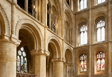 The South Transept of Peterborough Cathedral. Photo: Jarrolds Publishing