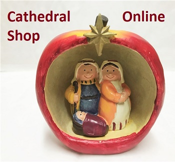 Nativity scene and link to online shop